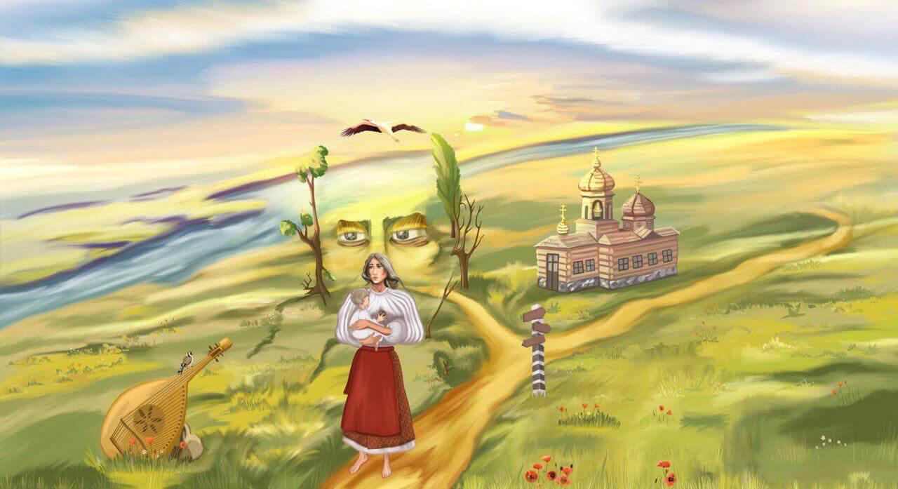 Приложение «Светлица» интерактивная экскурсия «Шевченко в Броварах»